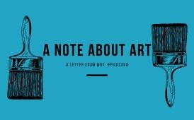 A Note About Art