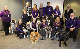 Crisis Response Canines Recognized