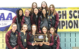 Dimond High Girls Swim and Dive