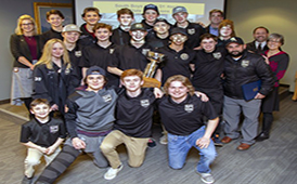 South High Boys Hockey Team -- Champions