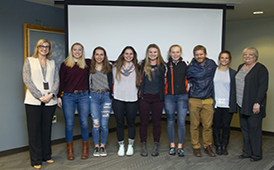 West High Girls Nordic Ski State Champions