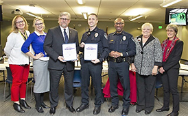 ASD Honors Judge and Police Deputy Chief McCoy