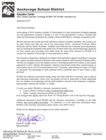 Dr. Bishop's letter to families link
