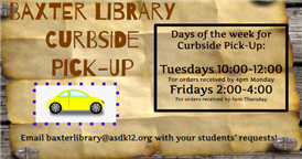 Library Curbside Pick-Up