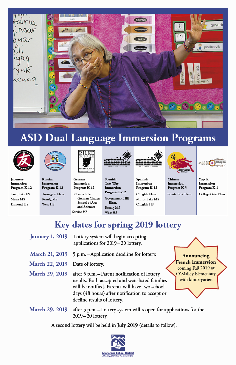 ASD Dual language Immersion poster