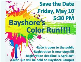 Color Run Friday May 10th
