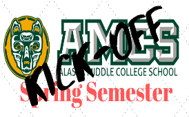 amcs seawolf logo with KICK OFF imposed over it