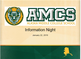 Information Night Slideshow