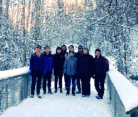Noatak exchange students in Anchorage