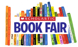Scholastic Book fair advertisement