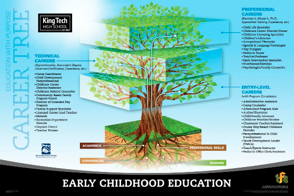 Early Childhood Education career tree