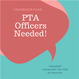 PTA Officers Needed!