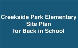 Creekside Park Health Safety Plan for In-Person School
