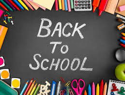 Back to School Aug. 20th 1st-6th Grade