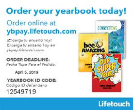 TIME IS RUNNING OUT TO ORDER YOUR YEARBOOK!!