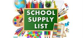 School Supply List 2020-2021