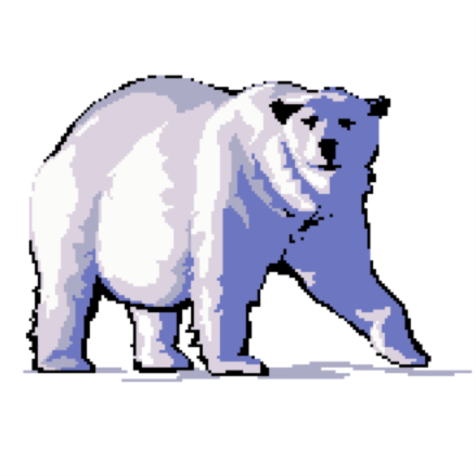 Ursa minor polar bear logo