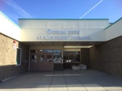 Entrance to Ocen View Elementary School