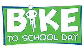 May 8th Bike to School Day