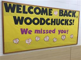 Welcome Woodchucks Board