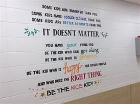 New Message Wall Mural