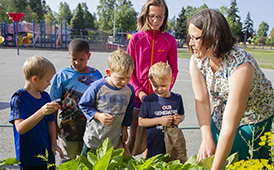 Community Outreach Through Gardening