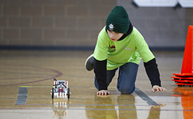 Robotic Olympics Builds Success in Students