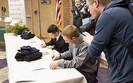 King Tech Students Sign Up for Future Careers