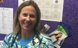Laura Zettler, Romig Middle School nurse