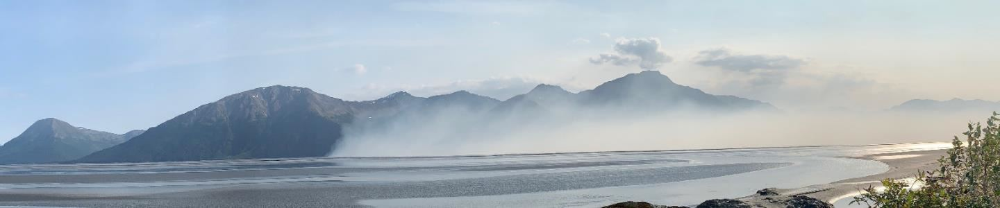 Fire on Turnagain Arm