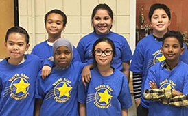 Battle of the Books 3rd & 4th grade team