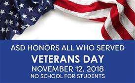 Veterans Day Observance: Nov 12.