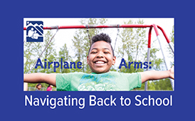 Airplane Arms: ASD in School vs. Virtual Program