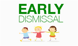 Early Dismissal Oct 24 & 25 at 12:30pm
