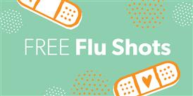 Free Flu Shot Clinic 10/24 @ 12:30 pm