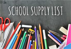 Supply List 2019-2020
