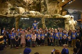 UM Choir at Bass Pro