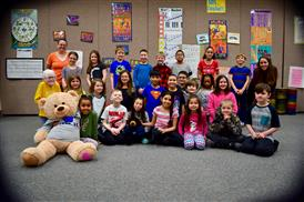 Spirit Bear Winners- Intermediate: Ms. Howard's 3rd Grade Class