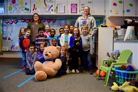 Spirit Bear Winners- Primary: Ms. Varney's Kindy Grade Class
