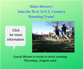 JOIN X-Country Running!