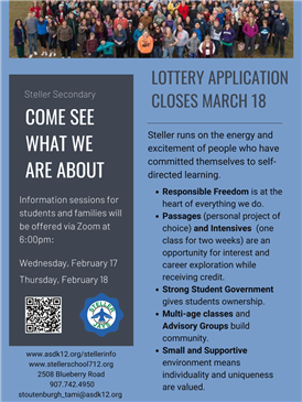 Steller Secondary Information Night - Click Here