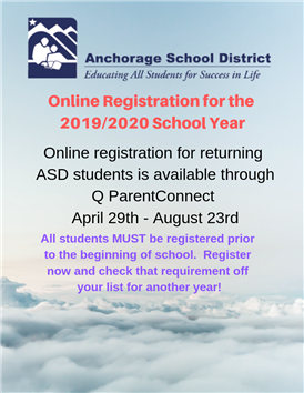 Register NOW for next school year!