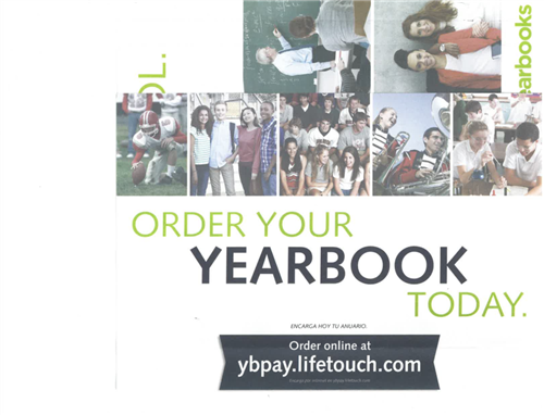2018/19 Yearbook Order Online