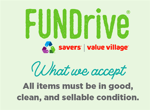 Fundraiser with Value Village