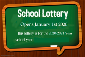 Lottery Opens Jan 1st 2020