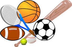 clip art of sporting equipment