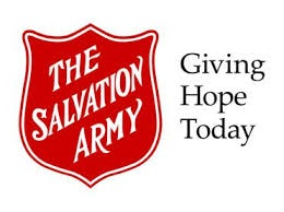 Salvation Army Logo, Giving Hope