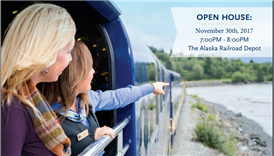 Be a Tour Guide for the Alaska Railroad