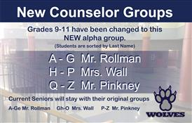 Counselor Changes 2018