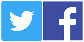 twitter & FB icons